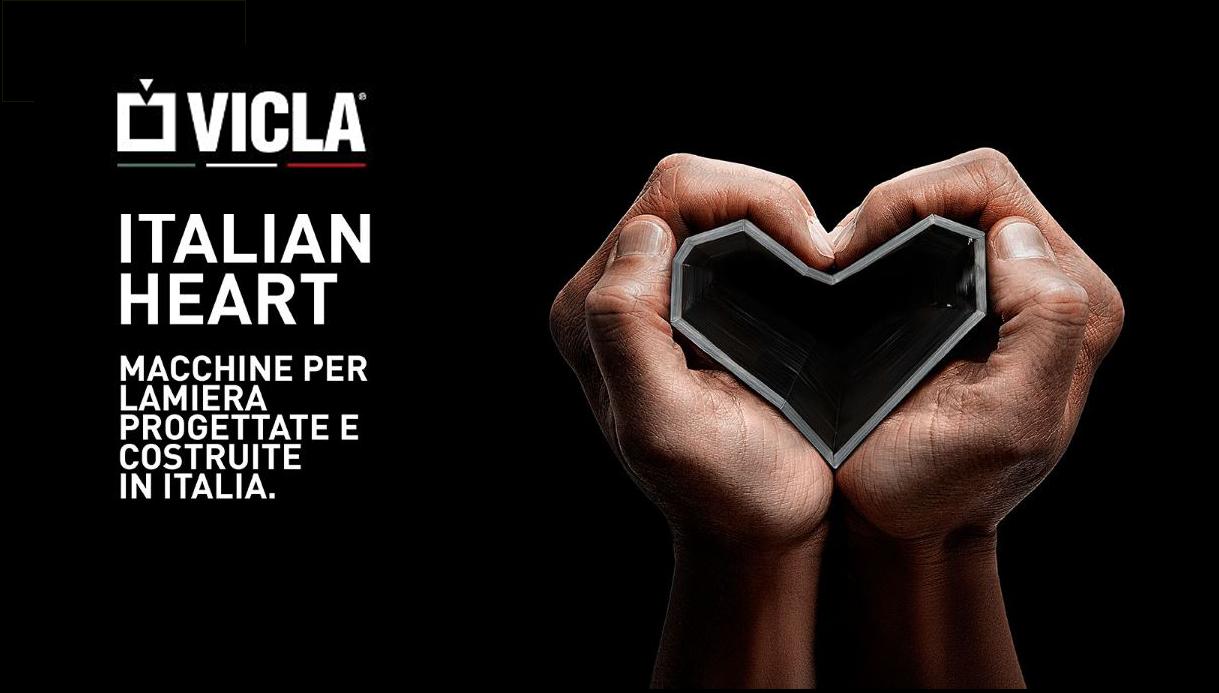 Superior la pressa piegatrica firmata Vicla® Best Partner Bestar 2016.