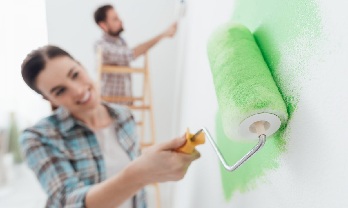 Colori Nuovi Per Tinteggiare Casa dipingere le pareti di casa